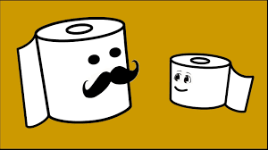 Funny Toilet Paper Life Purpose Of A Toilet Paper Roll Funny Cartoon Toiley Youtube