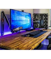 desk amazing pc gaming desk find this pin and more on gaming