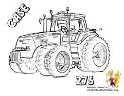 tractor coloring pages getcoloringpages com