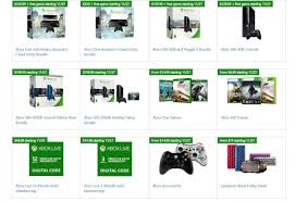 black friday deals from microsoft store include xbox bundles and