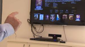 gestures replace remote controls at home video technology