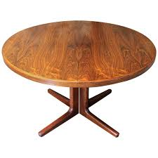 oval coffee table modern erik buck brazilian rosewood dining table for cj rosengaarden