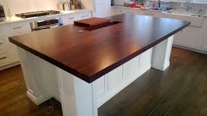 walnut kitchen island edge grain walnut kitchen island countertop custom