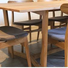 Sustainable Dining Table Our Gorgeous Delta Dining Table In American Oak Timber And Matt