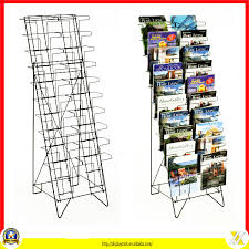 Business Card Racks Convenient Rotating Business Card Rack Display Stand For Greeting