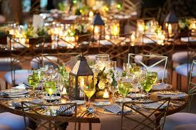 lantern centerpieces for weddings oceanfront ceremony sunset reception in vallarta mexico