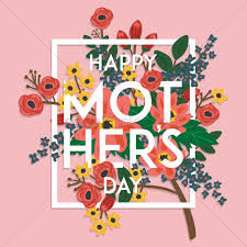 floral happy mothers day wishes vector image 1983016
