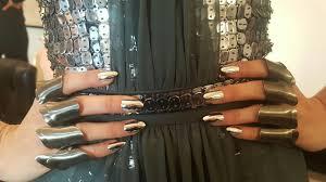 bring the salon home using kiss nail products novella