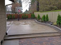Tuscan Patio Decorating Ideas by Fence On Concrete Patio Decorate Ideas Fantastical In Fence On