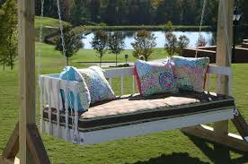 porch swing bed with canopy home outdoor decoration