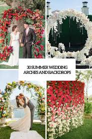 wedding arch backdrop 30 summer wedding arches and backdrops weddingomania