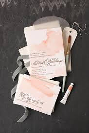 diy invitations diy watercolored letterpress invites julep