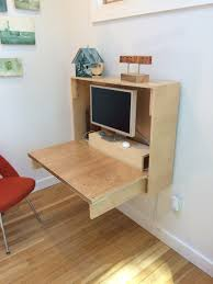how to fold up wall desk u2014 crafted fairly