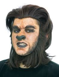 werewolf makeup tutorial male calling all the monsters a day in the 13 13 days of halloween