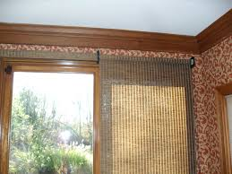 Bamboo Blinds For Porch by Patio Ideas Magnificent Patio Door Roller Shades Photos Concept