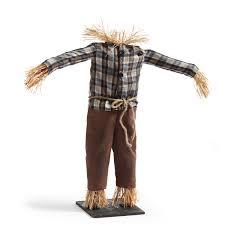 grandin road halloween scarecrow pumpkin stand the green head