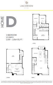 floor plans bc jacobsen living floorplans u2013 west coast modern townhomes at 2687