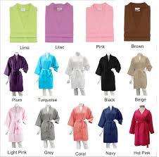 waffle robes for bridesmaids bridesmaid robes bridal waffle weave robe