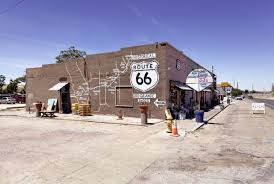 Map Route 66 by Oro Grande California Old Route 66
