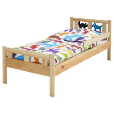 Child Bed Frame Kritter Bed Frame With Slatted Bed Base Pine Ikea For