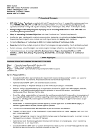 sap crm technical consultant resume sap mm functional consultant resume resume for study