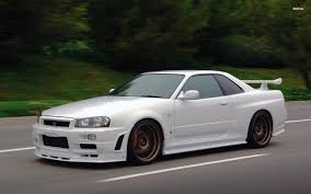 nissan skyline r34 wallpaper nissan skyline gtr34 wallpaper 1920x1200 17627