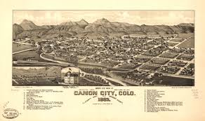 Colorado Map Of Cities by Bird U0027s Eye View Maps