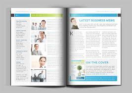 business news magazine indesign template create magazine now