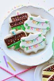 best 25 birthday cookies ideas on pinterest birthday cake