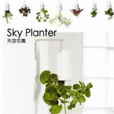 2pieces lot high 19cm large size sky planter 7 colors plastic