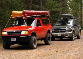 Ford Ranger Truck Cap - bwca canoe rack ideas for f150 boundary waters listening point