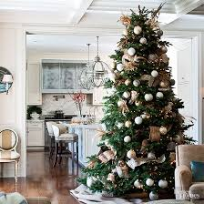 beautifully decorated christmas homes christmas tree decorating ideas