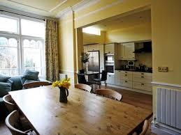 Colonial Kitchen Design Cozy And Chic Kitchen Dining Room Designs Kitchen Dining Room