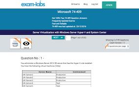 74 409 microsoft practice exam questions 100 free exam labs