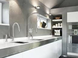 sink u0026 faucet beautiful modern kitchen with white cabinets