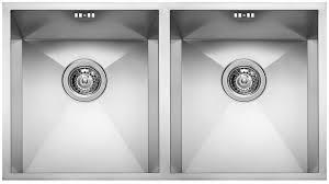 Square Kitchen Sinks Kitchen Sink Stainless Steel Square 720 2v Elleci