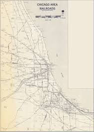 Map Chicago Il by Chicago Il Railfan Guide Crossings