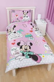 minnie mouse twin bedding set with beautiful decoration twin bed