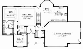 open house plans with large kitchens one house plans large kitchens inspirational e house