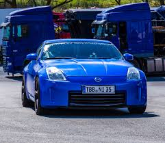 nissan blue nissan 350z dipped