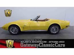 1973 corvette convertible for sale 1973 chevrolet corvette for sale on classiccars com 56 available