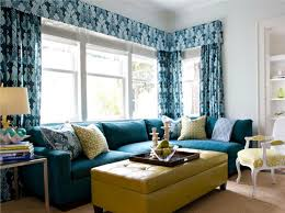 stylish living room using stripes wallpaper and yellow purple