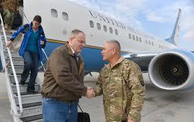 Bob F by File U S Deputy Defense Bob Work Shakes With Army