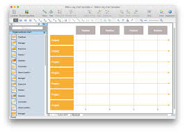 help desk organizational structure create a matrix organizational chart conceptdraw helpdesk