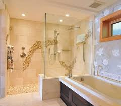 Shower In Bathroom Walk In Shower Dimension Consideration To Determine Bathroom