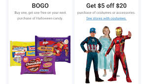 spirit halloween 20 off printable coupon 1 25 1 big bag of nestle halloween candy 25oz 11 1 2016 melissa s