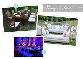 table rental atlanta rustic party rental options chic new seats from event rentals