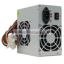 computer power supply fan used atx power supply for pc and jamma board use