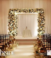 wedding arches inside wedding ceremony decoration ideas pictures indoor wedding