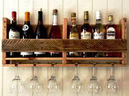 Kitchen Cabinet Wine Rack Ideas Diy Wine Glass Rack Pinterest Diy Wine Glass Rack Hanging Type